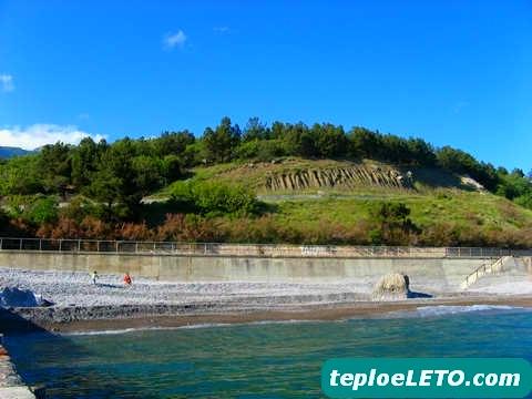 Фото пляжи понизовка и кацивели