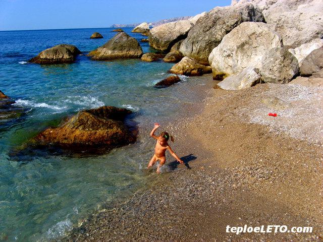 Кацивели пляжи
